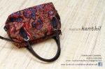 tas batik tulis lawasan lasem kombinasi kulit sapi